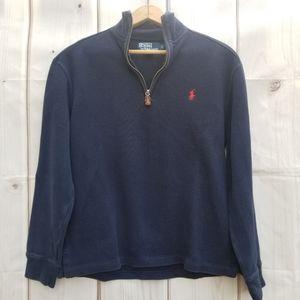 Polo Ralph Lauren Navy 1/4 Zip Pullover Size Small